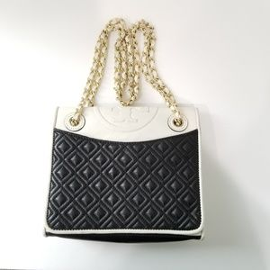 Tory Burch Fleming Bag Quilted Adjustable
